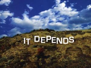it-depends